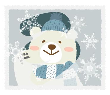 北欧テイストでご挨拶3【冬・年末年始】