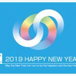 無料 2019年 デザイン年賀状 スケート