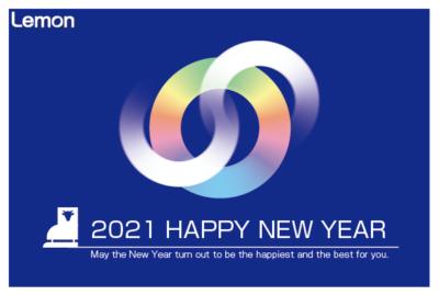 無料 2021年 デザイン年賀状 スケート